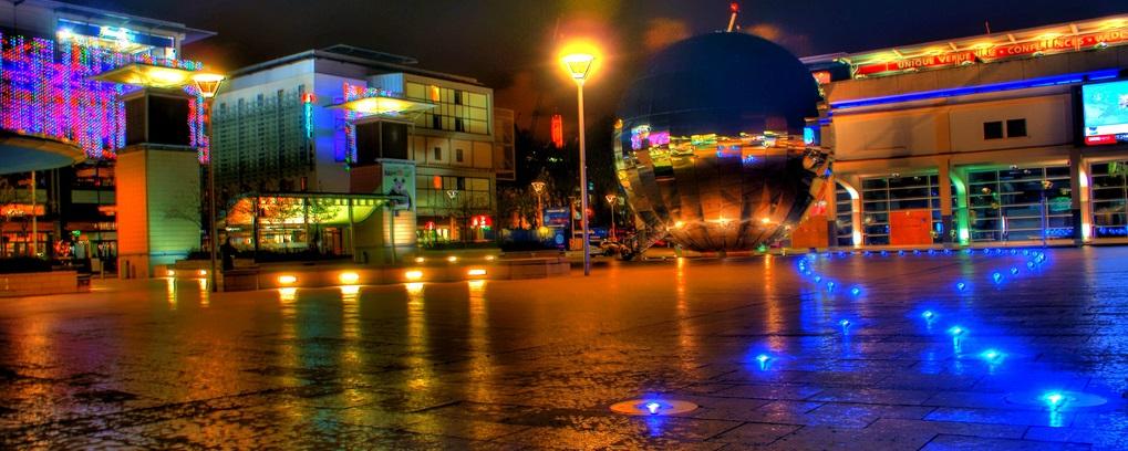 Explore @ Bristol by night