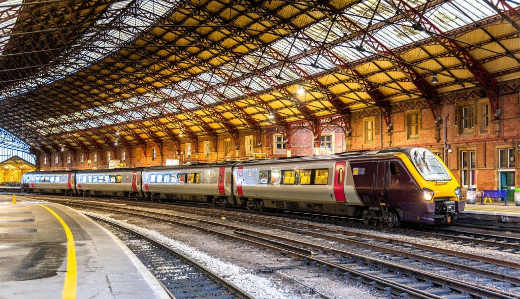 Train at Temple Meads